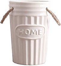 DealMux Vaso secchio in ceramica retrò bucolico,