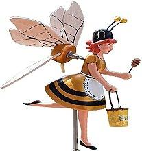 DealMux Whirligig Asuka Series Windmill, Bees