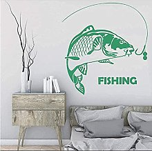 Decal fisherman impermeabile pittura murale