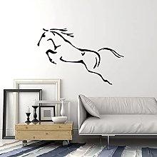 Decalcomania della parete Astratto Cavallo Animale