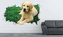 Decalcomania della parete del cane animale adesivo