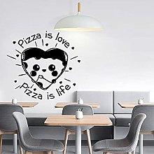 Decalcomania della parete della pizza Citazione