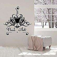 Decalcomania della parete di arte del chiodo