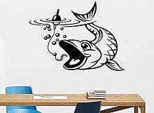 Decalcomania della parete di pesca Pesce nautico