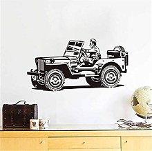 Decalcomanie Da Muro In Vinile Per Camion