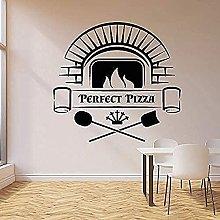 Decalcomanie da muro Lettere perfette Pizzeria