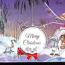 Decalcomanie Per Adesivi Murali, Buon Natale Snow