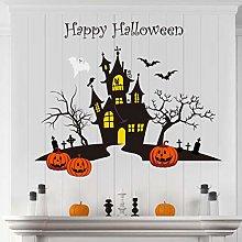 decalmile Adesivi Murali Halloween Pipistrelli