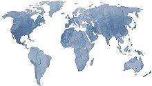 decalmile Adesivo Murale Mappa Mondo Adesivi da