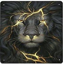DECISAIYA Poster Targhe in Metallo Disegno del