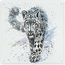 DECISAIYA Poster Targhe in Metallo Leopardo delle