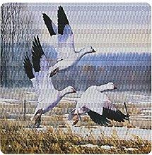 DECISAIYA Poster Targhe in Metallo Oche delle Nevi
