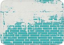 DECISAIYA Tappetino da bagno antiscivolo Muro di