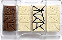 Decora 0050083 Stampo Cioccolatino Tavoletta 200 X