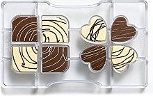 Decora 0050084 Stampo Cioccolatino Quadrifoglio
