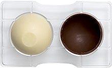 Decora 0050093 Stampo Cioccolato Mezza Sfera con