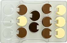 Decora 0050120 Stampo Cioccolatino Tondo Incastro