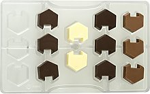 Decora 0050121 Stampo Cioccolatino Esagono Incastro