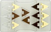 Decora 0050122 Stampo Cioccolatino Triangolo