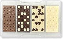 Decora 0050128 Stampo Cioccolato Tavoletta Bolle