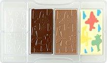 Decora 0050137 Stampo Cioccolato Tavoletta Aerei E