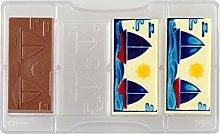 Decora 0050138 Stampo Cioccolato Tavoletta Barche