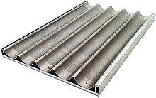 Decora 5548120 Teglia, Alluminio, Argento