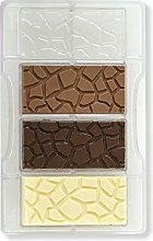 Decora Stampo per Cioccolato Tablet Effetto