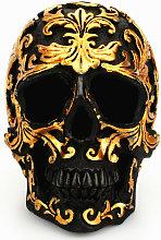 Decorativo Skull Sculpture Statue Skull Resina