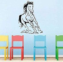 Decorazione Da Parete Cavalli In Corsa Cavallo