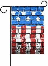 Decorazione da parete con bandiera patriottica