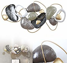 Decorazione da Parete in Metallo - Astratto