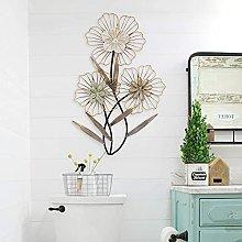 Decorazione da parete in metallo per la casa -