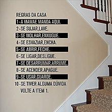 Decorazione della casa moderna Regole della casa