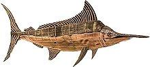 Decorazione della Parete di Balena In Legno,