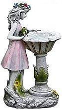 Decorazione della scultura, Statua della ragazza