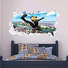 Decorazione murale da parete per bambini con un