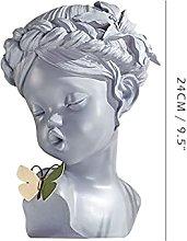 Decorazione murale Figurine, ragazza Scultura