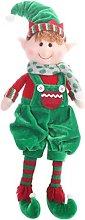 Decorazioni di Elfi di Natale Bambole Figurine di