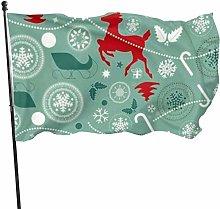 Decorazioni natalizie Bandiera Nazionale Bandiera