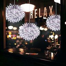 Decorazioni natalizie - Set di 2 lucine LED 198LED
