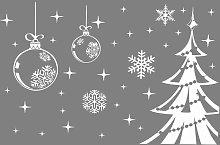 Decorazioni per finestre di Natale Adesivi per