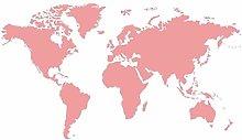 Decorazioni Per La Casa Mappa Del Mondo Atlante