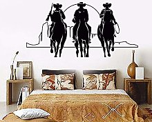 Decorazioni Per La Casa Vinile Adesivo Cowboy