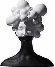 Decoro statua Personaggio decorazione astratta