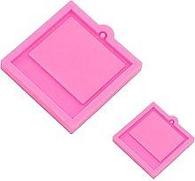 Dedepeng Stampo in silicone, 1 set di portachiavi