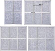 Dedepeng Stampo in silicone a forma di carte da