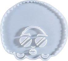 Dedepeng Stampo in silicone a forma di goccia, in