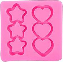 Dedepeng Stampo in silicone a forma di stella a 5