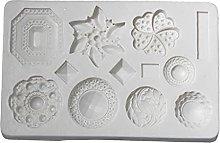 Dedepeng Stampo in silicone con gemma di cristallo